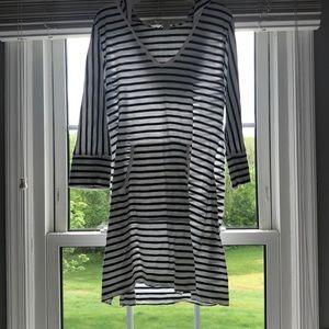 Banana Republic Striped Hooded Dress!!!